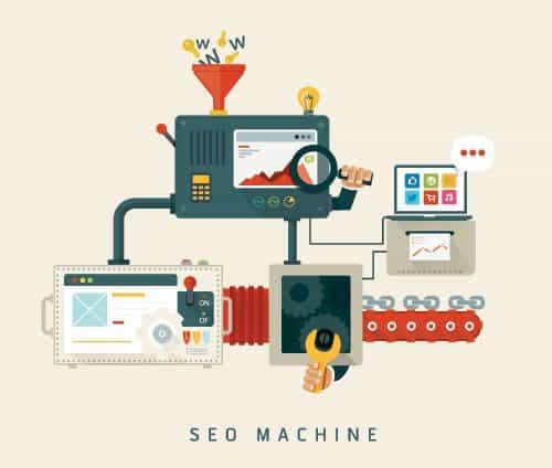 Website SEO machine, process of optimization