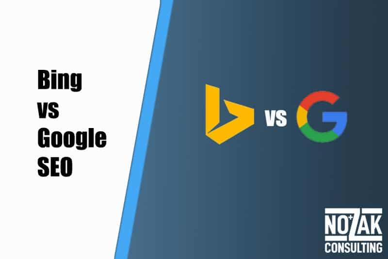 Bing vs. Google SEO