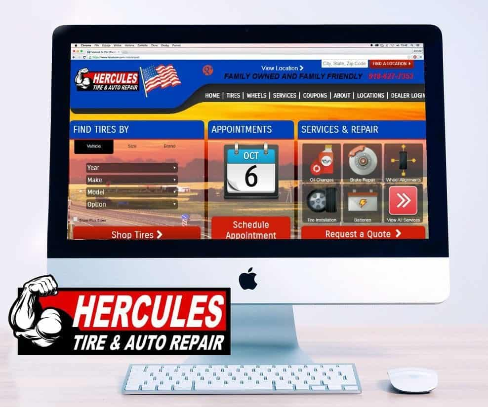 imac screen Herc Logo